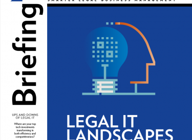 Legal IT Landscapes 2019 – Briefing