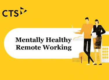 Mentally Healthy Remote Working – Infographic